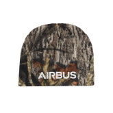 Mossy Oak Camo Fleece Beanie-Airbus
