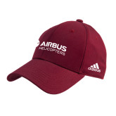 Adidas Cardinal Structured Adjustable Hat-Airbus Helicopters