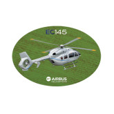Small Magnet-EC145 Over Green Field, 6 inches wide