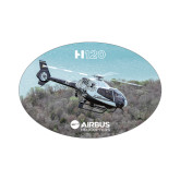 Small Magnet-H120 Over Trees, 5 inches wide