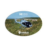 Small Magnet-H130 In Front of Mountain, 5 inches wide