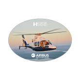 Small Magnet-H155 Over Shoreline, 5 inches wide
