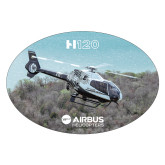 Extra Large Magnet-H120 Over Trees, 12 inches wide