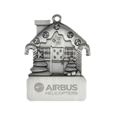 Pewter House Ornament-Airbus Helicopters Engraved