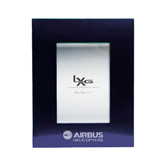 Royal Brushed Aluminum 3 x 5 Photo Frame-Airbus Helicopters Engraved