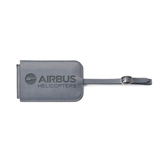 Fabrizio Grey Luggage Tag-Airbus Helicopters Engraved
