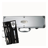 Grill Master 3pc BBQ Set-Airbus Helicopters Engraved