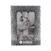 Silver Textured 4 x 6 Photo Frame-Airbus Helicopters Engraved