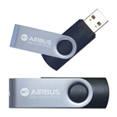 USB Black Mini Pen Drive 4G-Airbus Helicopters Engraved