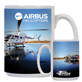 Full Color White Mug 15oz-UH-72A Lakota fleet