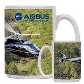 Full Color White Mug 15oz-AS350 Over Marsh