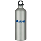 Venture Aluminum Silver Bike Bottle 26oz-Airbus Helicopters