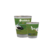 Full Color Shot Glass 1.5oz-EC135 Over Green Field
