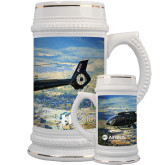 Full Color Decorative Ceramic Mug 22oz-H130 Over Mountain Valley