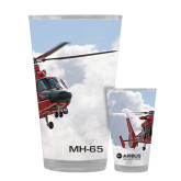 Full Color Glass 17oz-MH-65 In Clouds