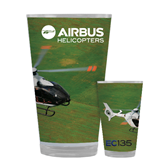 Full Color Glass 17oz-EC135 Over Green Field
