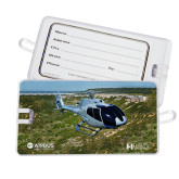 Luggage Tag-H130 In Front of Mountain