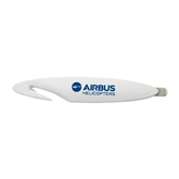 White Letter Opener and Staple Remover-Airbus Helicopters
