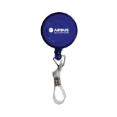 Blue Retractable Badge Holder-Airbus Helicopters