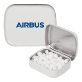 White Rectangular Peppermint Tin-Airbus