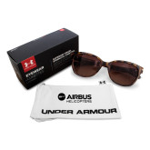 Ladies Under Armour Perfect Tortoise Sunglasses-Airbus Helicopters