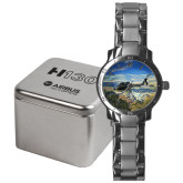 Mens Stainless Steel Fashion Watch-H130 Over Mountain Valley