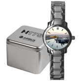 Mens Stainless Steel Fashion Watch-H175 Over City Shore