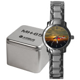 Mens Stainless Steel Fashion Watch-MH-65 Sunset