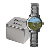 Ladies Stainless Steel Fashion Watch-H130 In Front of Mountain