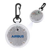 Clear Round Flashing Reflector Light-Airbus