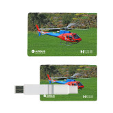 Card USB Drive 4GB-H125 Over Grass