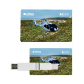 Card USB Drive 4GB-H130 In Front of Mountain