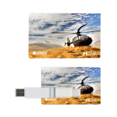 Card USB Drive 4GB-H135 On Ground
