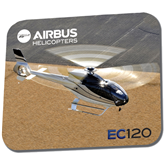 Full Color Mousepad-EC120 Over Farmland