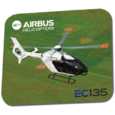 Full Color Mousepad-EC135 Over Green Field