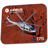 Full Color Mousepad-EC175 Over Desert Mountains