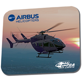 Full Color Mousepad-UH72A Lakota Over Sunset