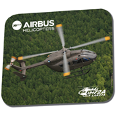 Full Color Mousepad-UH72A Lakota Over Forest