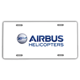 License Plate-Airbus Helicopters