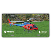 License Plate-H125 Over Grass