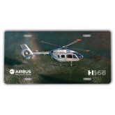 License Plate-H145 Over Water