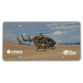 License Plate-UH72A Over Dessert