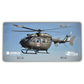 License Plate-UH72A In Sky