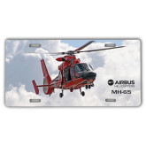 License Plate-MH-65 In Clouds