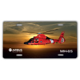 License Plate-MH-65 Sunset