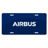 License Plate-Airbus