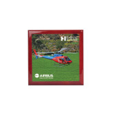 Red Mahogany Accessory Box With 6 x 6 Tile-H125 Over Grass