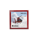 Red Mahogany Accessory Box With 6 x 6 Tile-MH-65 In Clouds
