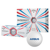 Callaway Supersoft Golf Balls 12/pkg-Airbus