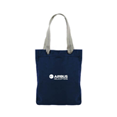 Allie Navy Canvas Tote-Airbus Helicopters